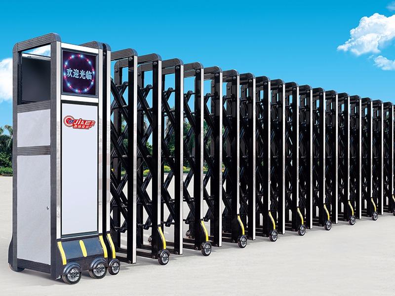 沈阳电动伸缩门的分类有哪些,沈阳电动伸缩门生产厂家,永特佳尔