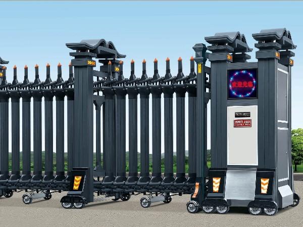沈阳伸缩门厂家解析丨电动伸缩门不能开或关怎么办?