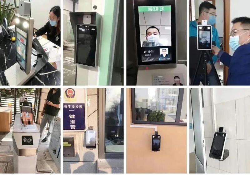 人脸识别测温装置案例,人脸识别测温生产厂家,人脸识别管理