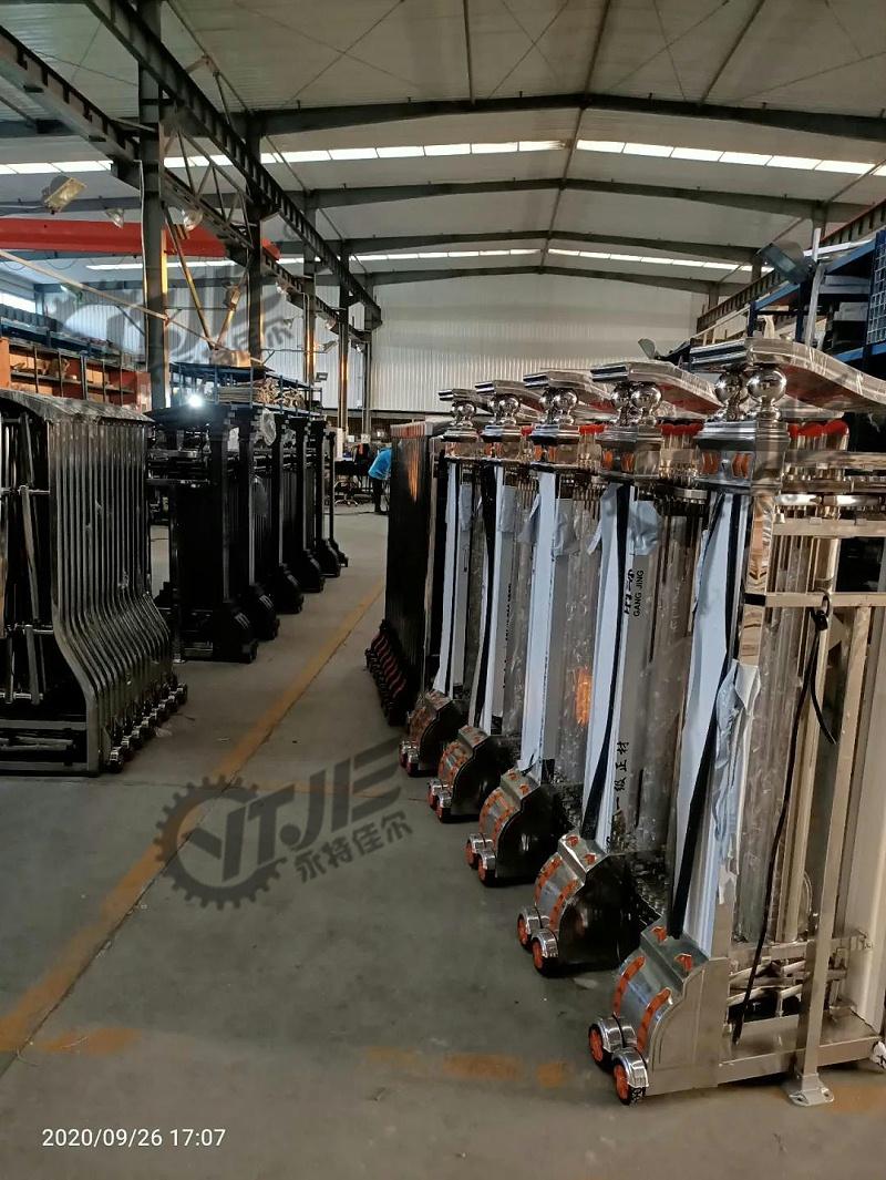 悬浮门生产厂家,沈阳悬浮门制造厂家,悬浮门生产现场