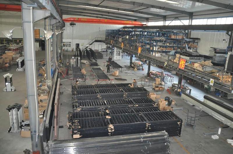 悬浮门生产厂家,永特佳尔生产基地