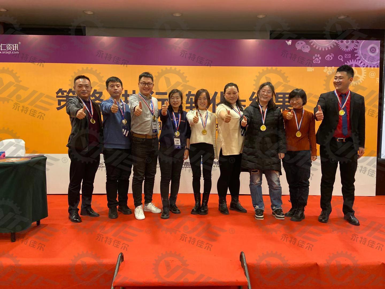 沈阳悬浮门伸缩门分段门生产厂家沈阳永特佳尔门业获得比赛第一名